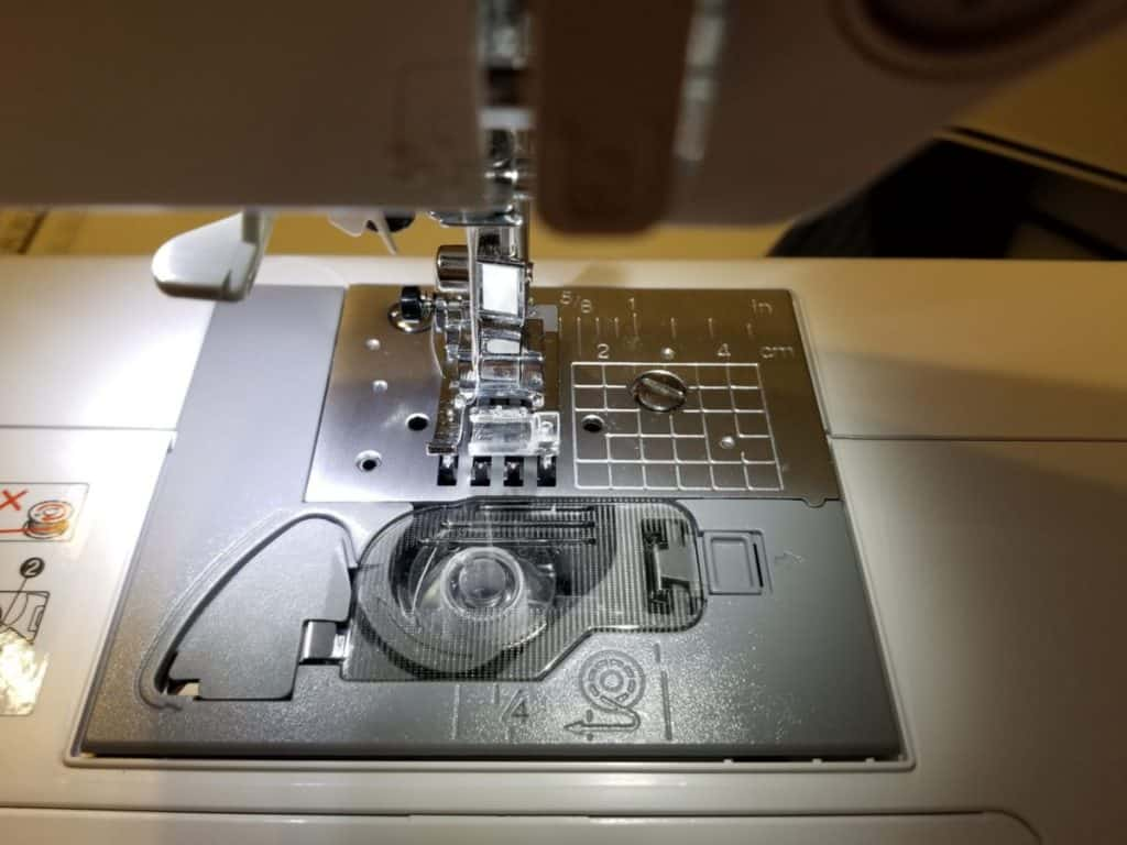 Brother CS6000i sewing machine LED light example