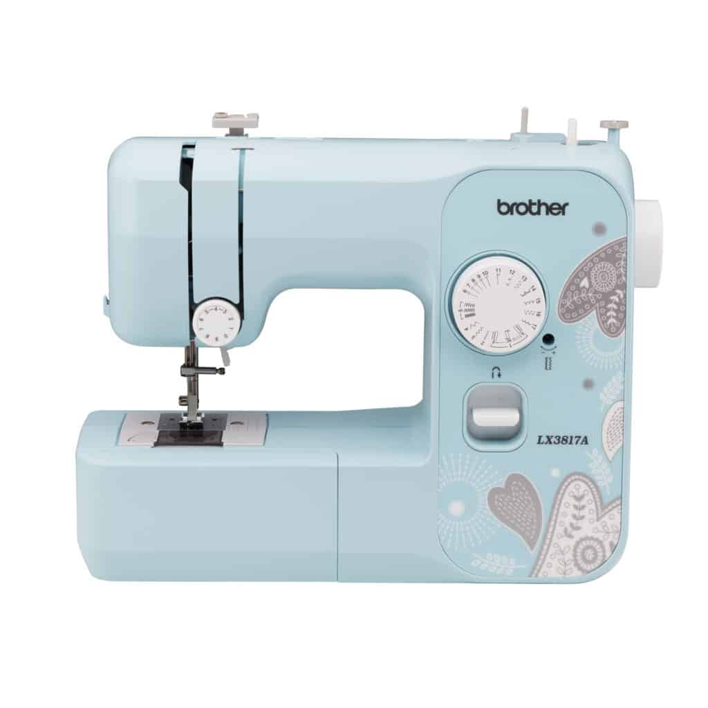 Brother LX3817 Sewing Machine with LED lit work area beginner friendly