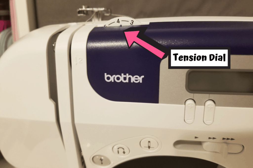 tension dial on brother cs6000i