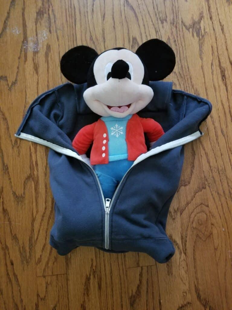DIY Doll Sleeping Bag