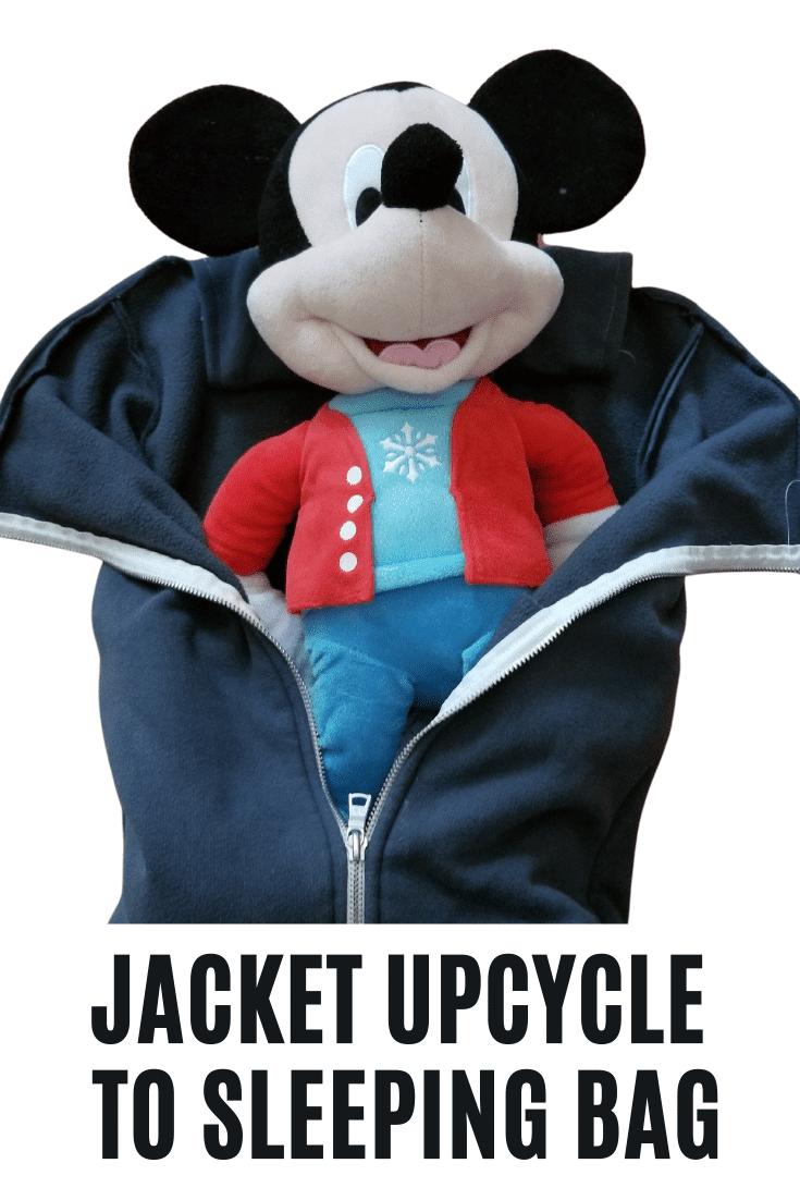 Copy of Jacket Rpurpose to Doll Sleeping Bag!