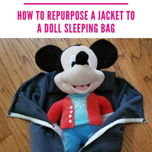Sew a DIY Doll Sleeping Bag! – Old Jacket Upcycle Idea