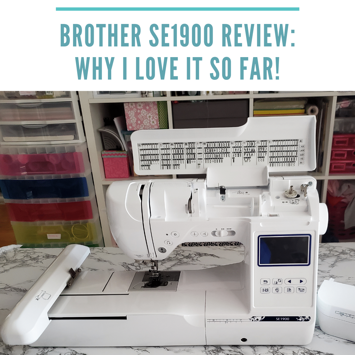 Brother SE1900 Review + Tips for Using It