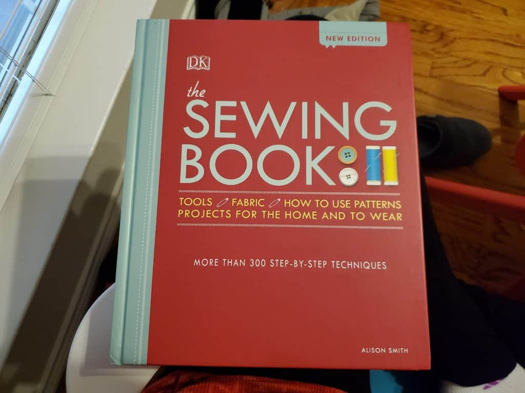 the sewing book - a great book for beginners!