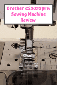 Brother CS5055prw Sewing Machine Review