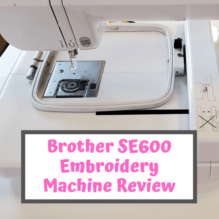 Brother SE600 Review – The Best Sewing & Embroidery Machine?