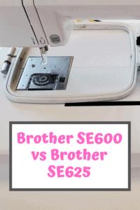Brother SE600 vs SE625 Comparison