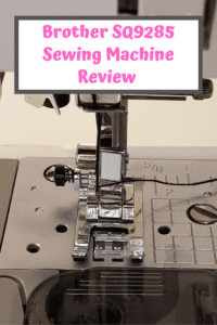 Brother SQ9285 Sewing Machine Review