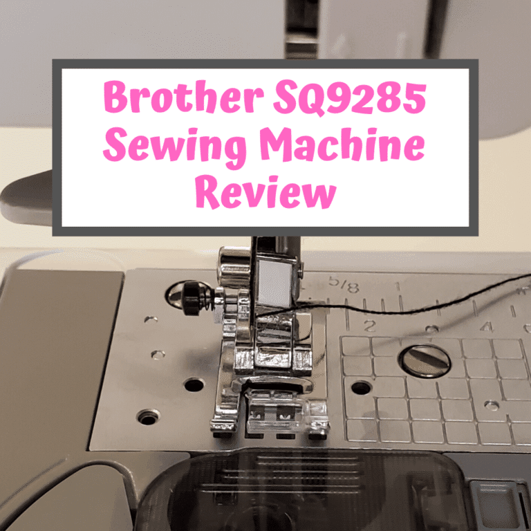 Brother SQ9285 Sewing Machine Review – Is It A Good Buy?