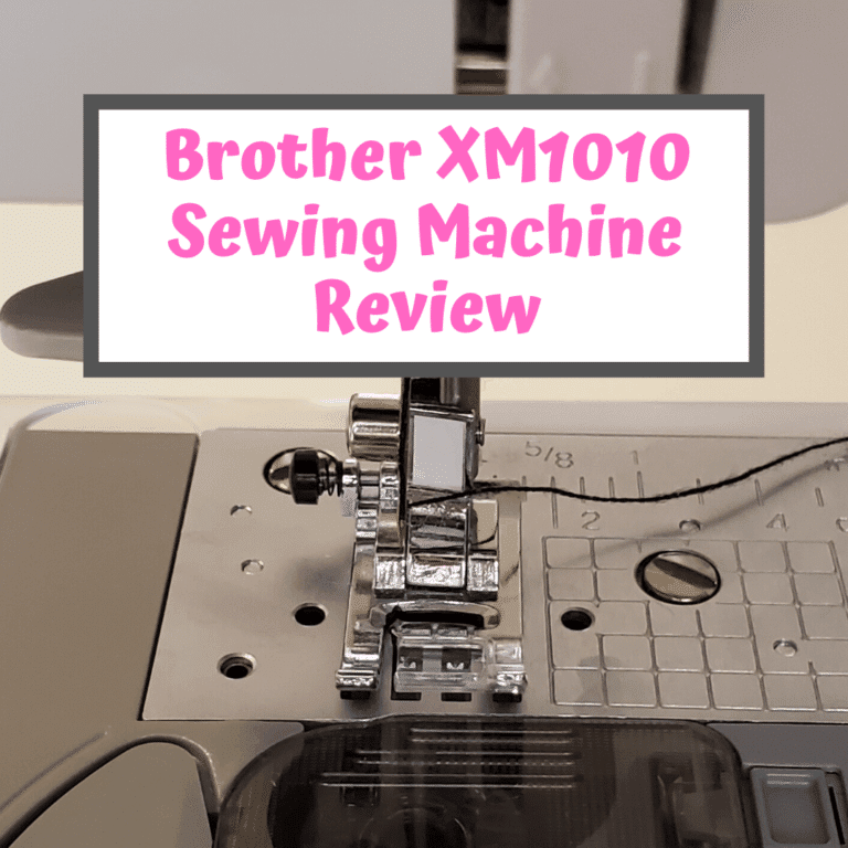 Brother XM1010 Review – A Good Budget Sewing Machine?