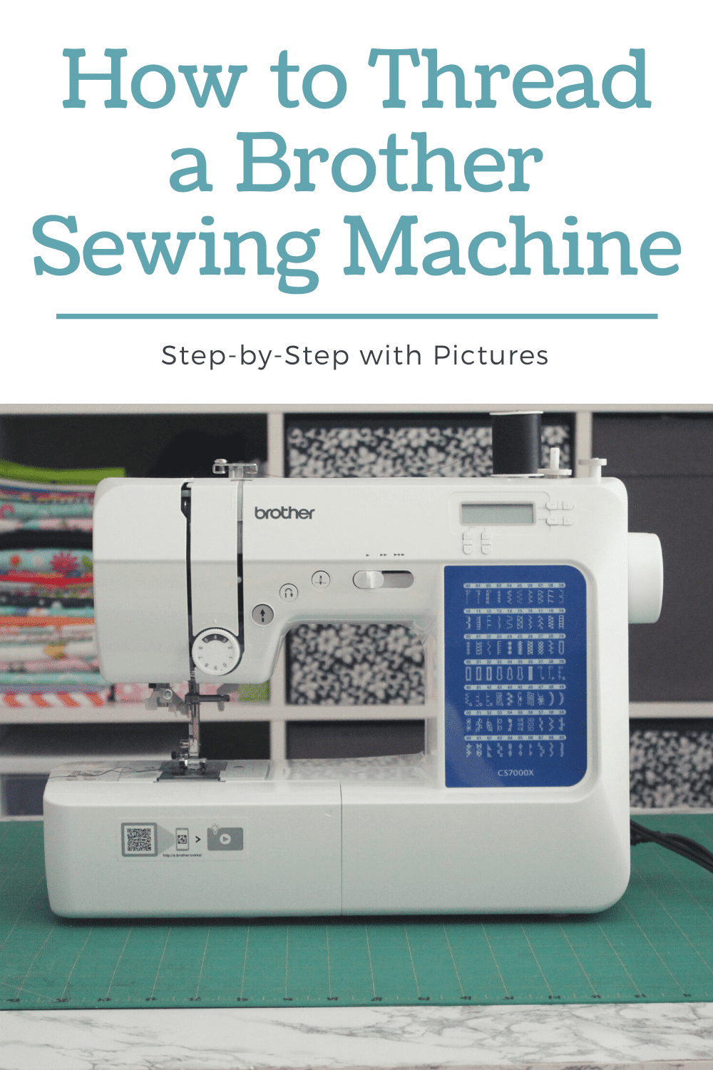 step-by-step thread a brother sewing machine
