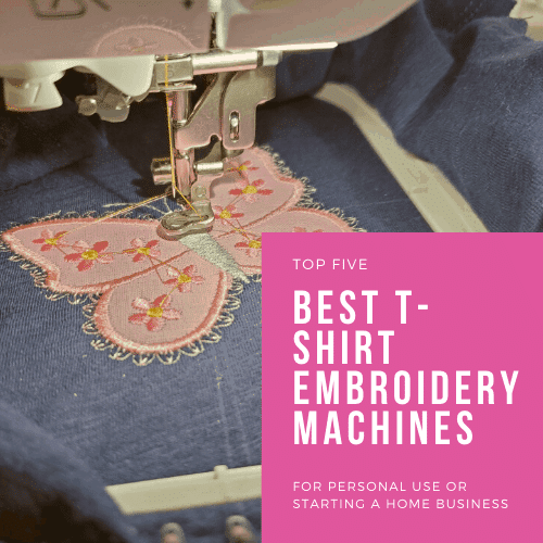 Best Embroidery Machine for Shirts – Tips & Reviews for 2021