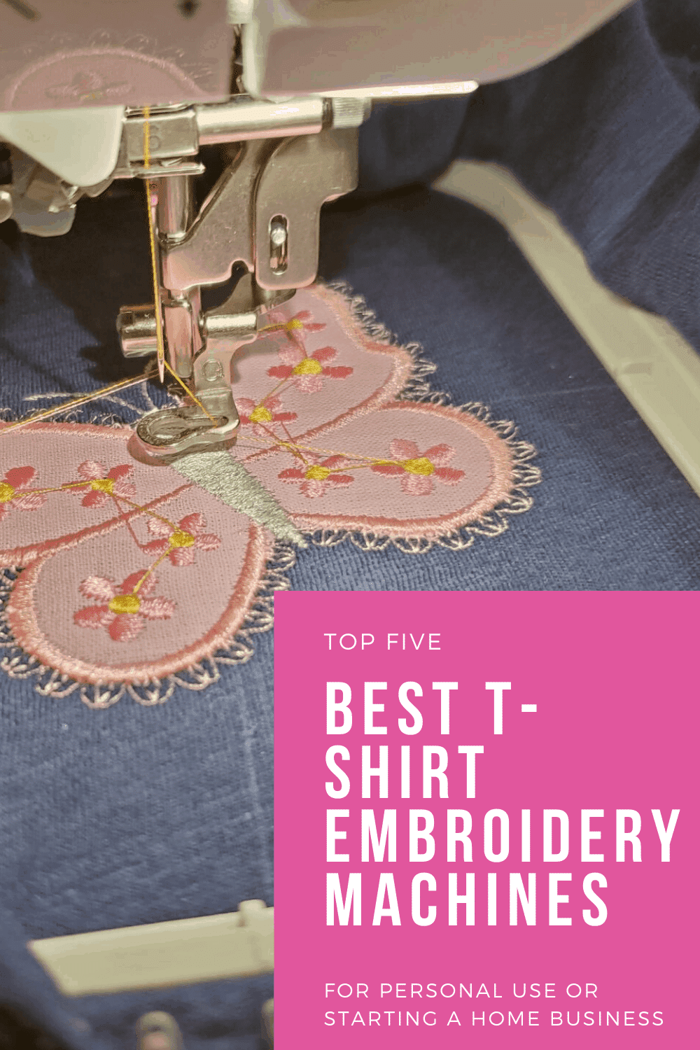 Best embroidery machine for shirts