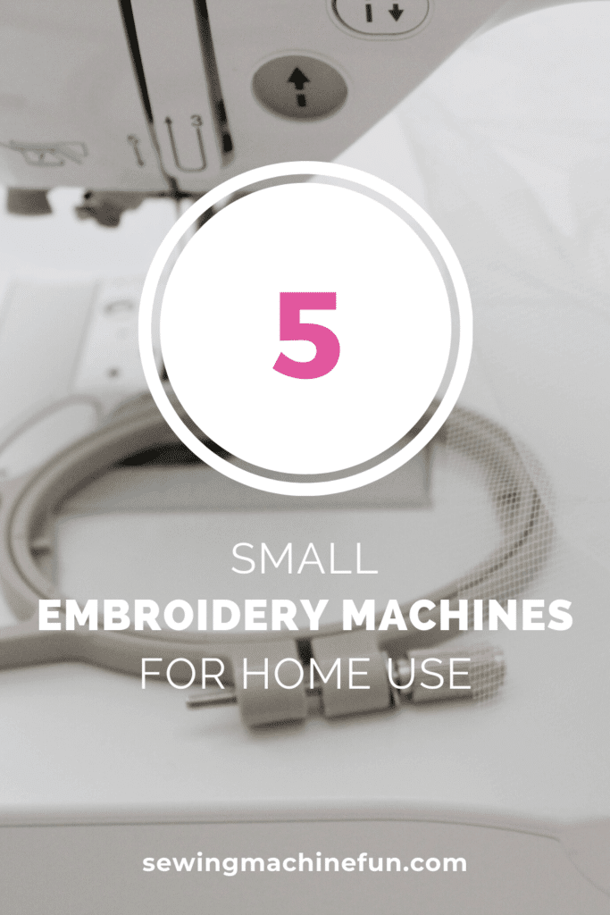 best small embroidery machine