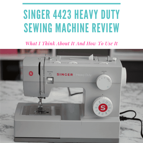 Singer 4423 Heavy Duty Sewing Machine Review – Personal Experiences