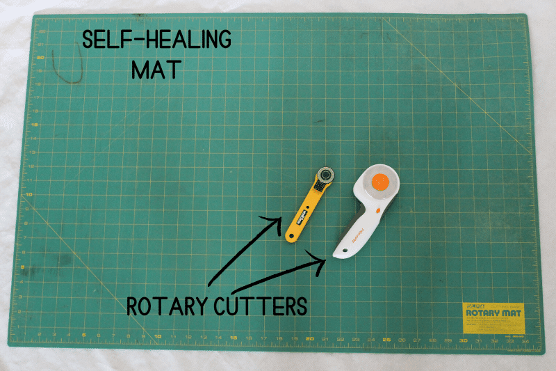 Cutting Sewing Tools_ Rotary Mat and Cutting Mat