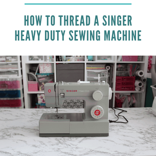 How to Thread a Singer Heavy Duty Sewing Machine Step-by-Step Tutorial