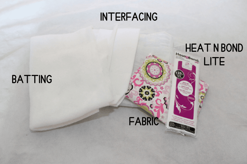 fabric, interfacing, heat n bond lite