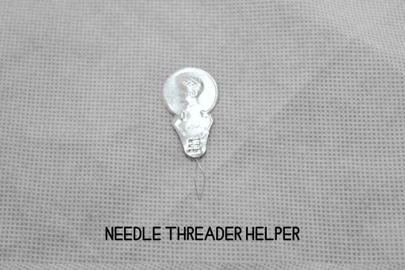 needle threader assistance