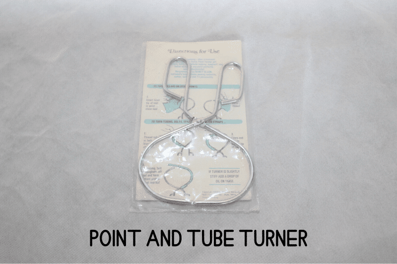 point and tube turner