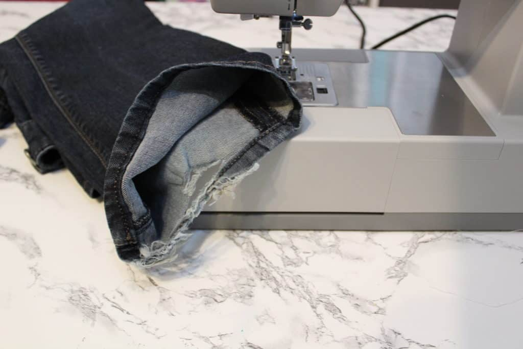 sewing denim with singer 4423