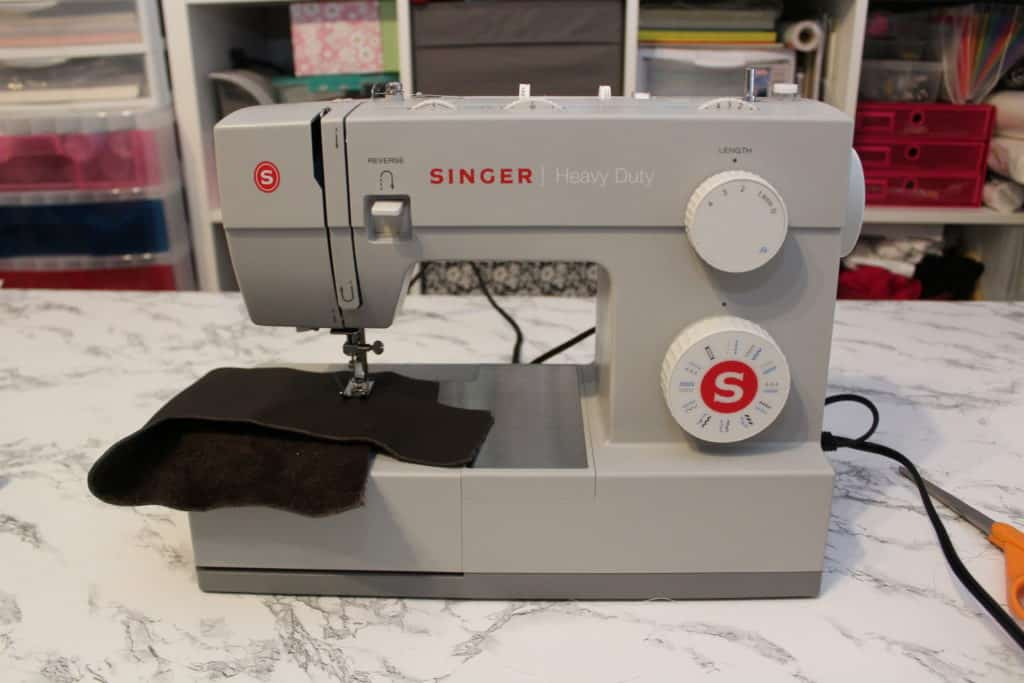 sewing leather with singer 4423