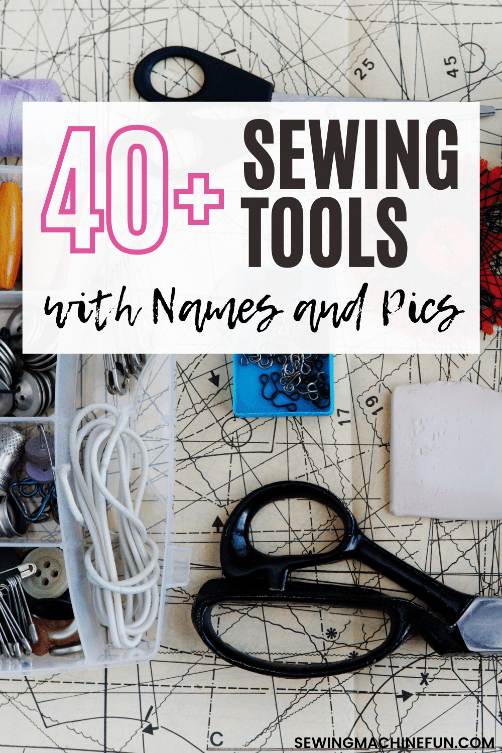sewing supplies list for beginners