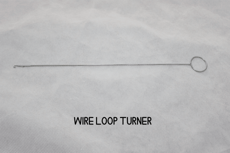 wire loop turner