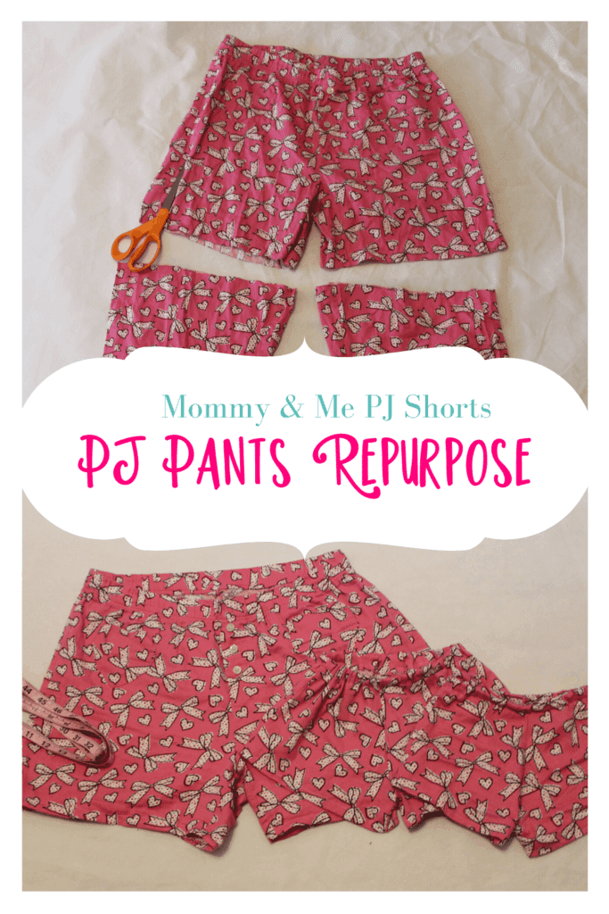 how to sew pajama shorts with no pattern