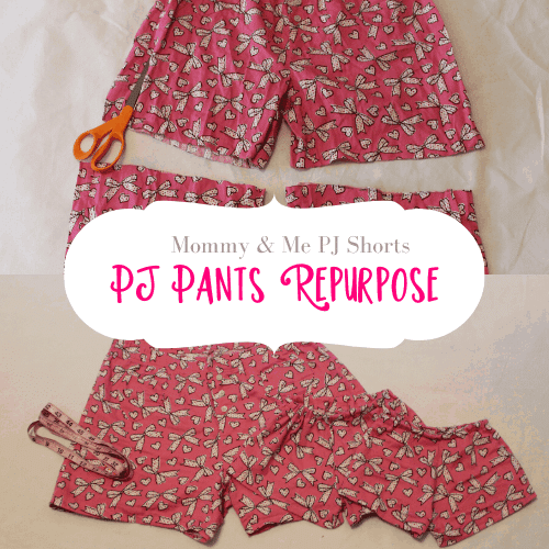 How to Sew Pajama Shorts – Easily Refashion Too Short Pajama Pants