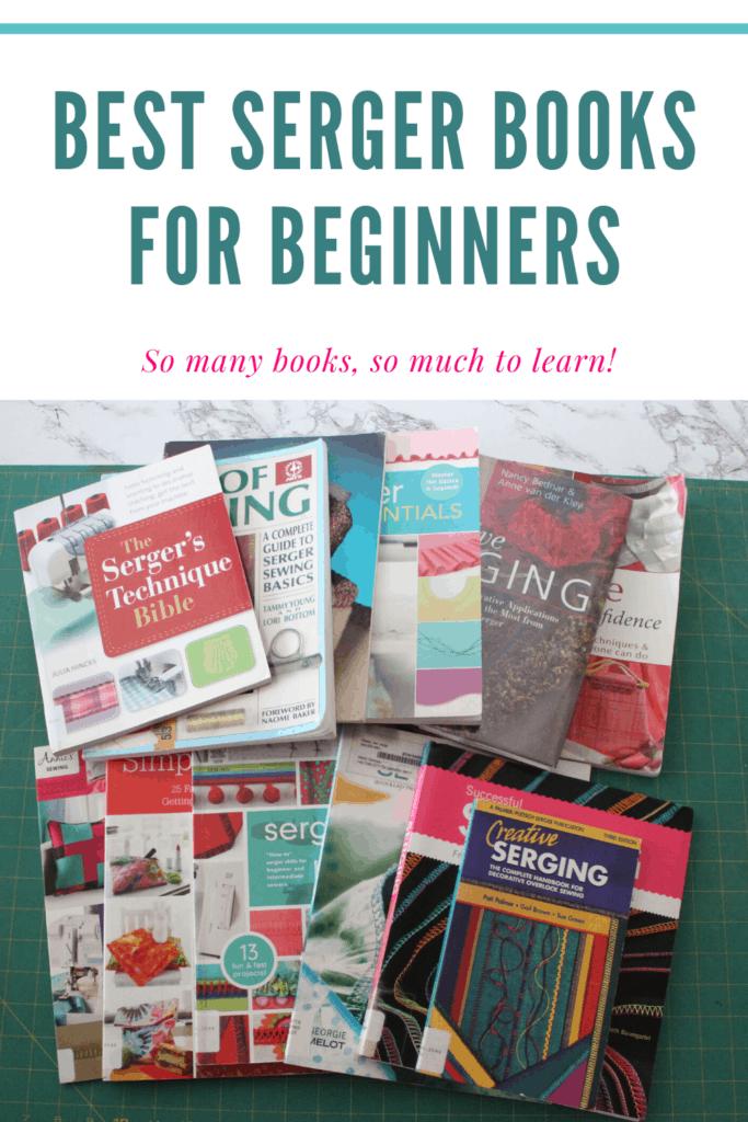 Best SErger books for beginners