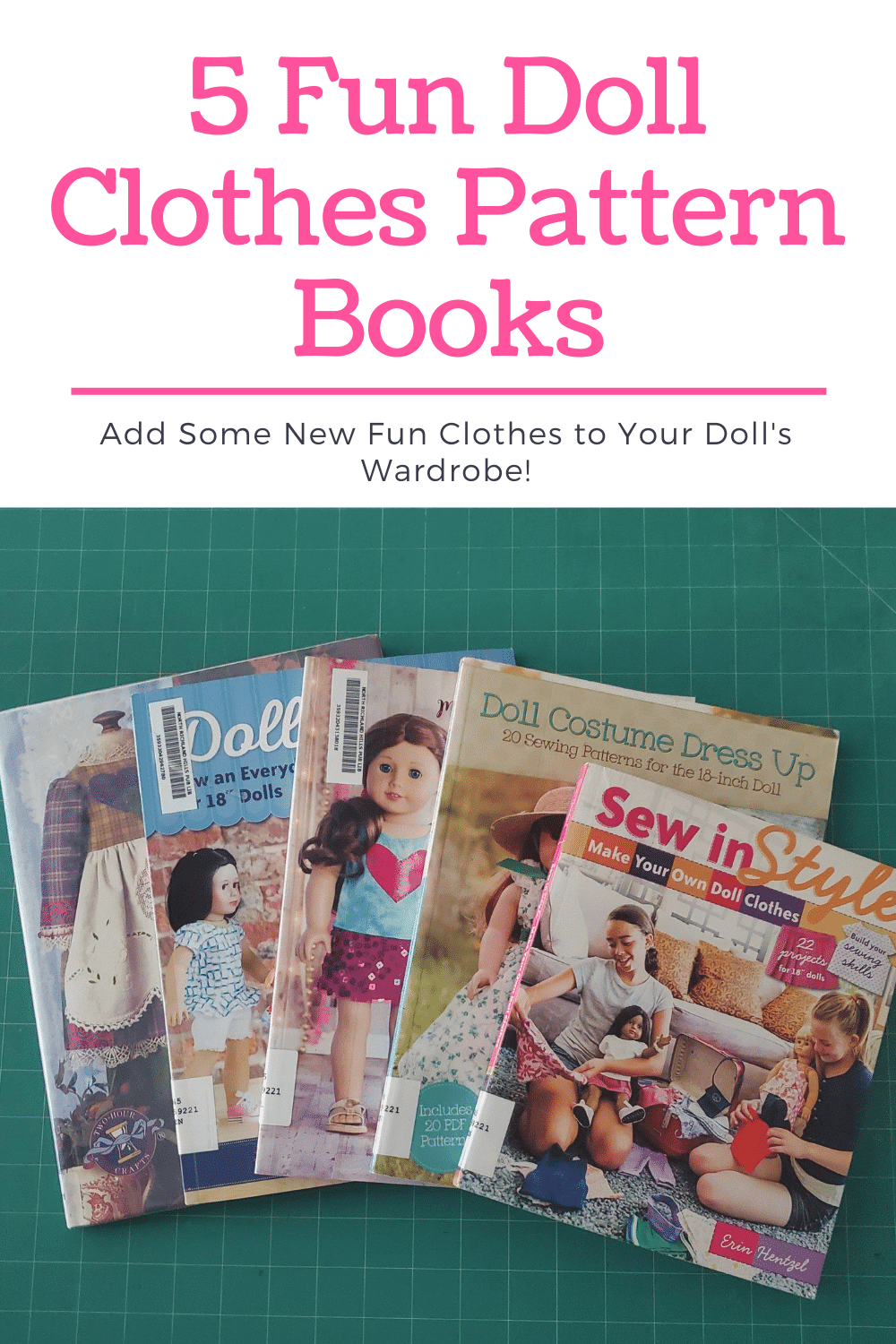 My Favorite Doll Clothes pattern Books