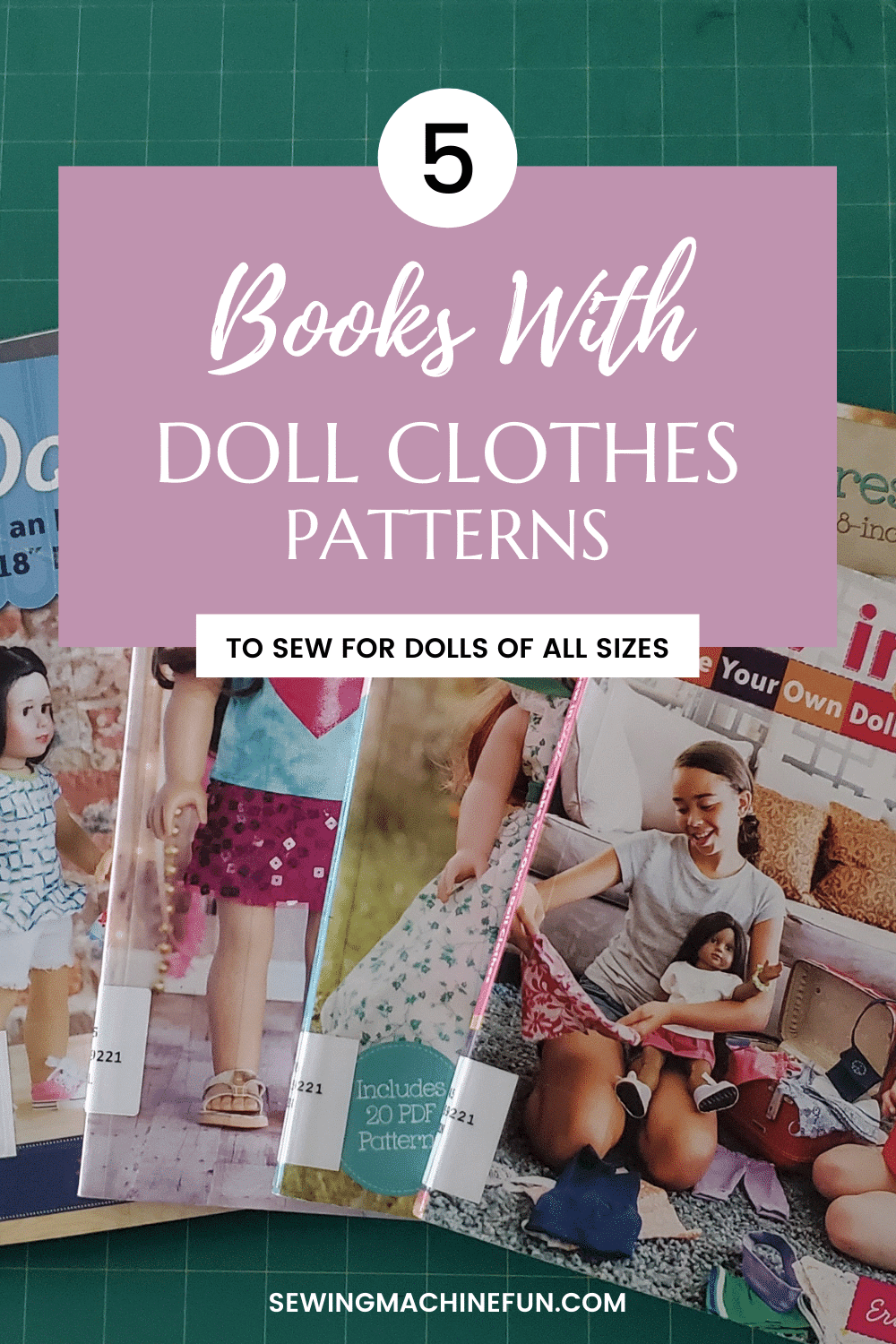 Best Fun Doll Clothes Pattern Books
