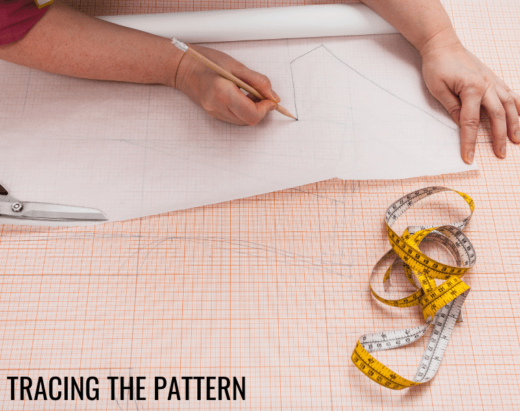 how to cut out doll clothes patterns