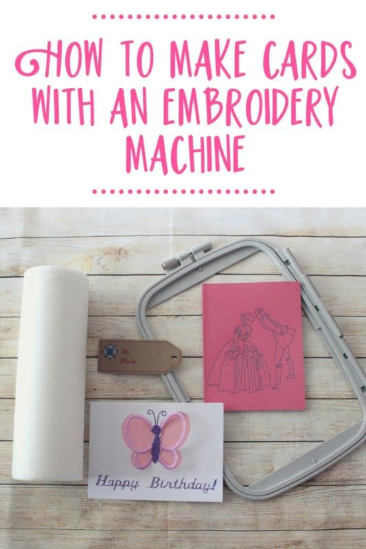 machine embroidery on cardstock width=