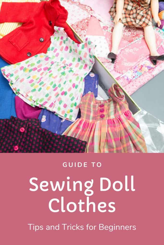 guide to sewing doll clothes