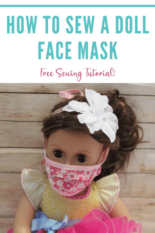 doll mask pattern free