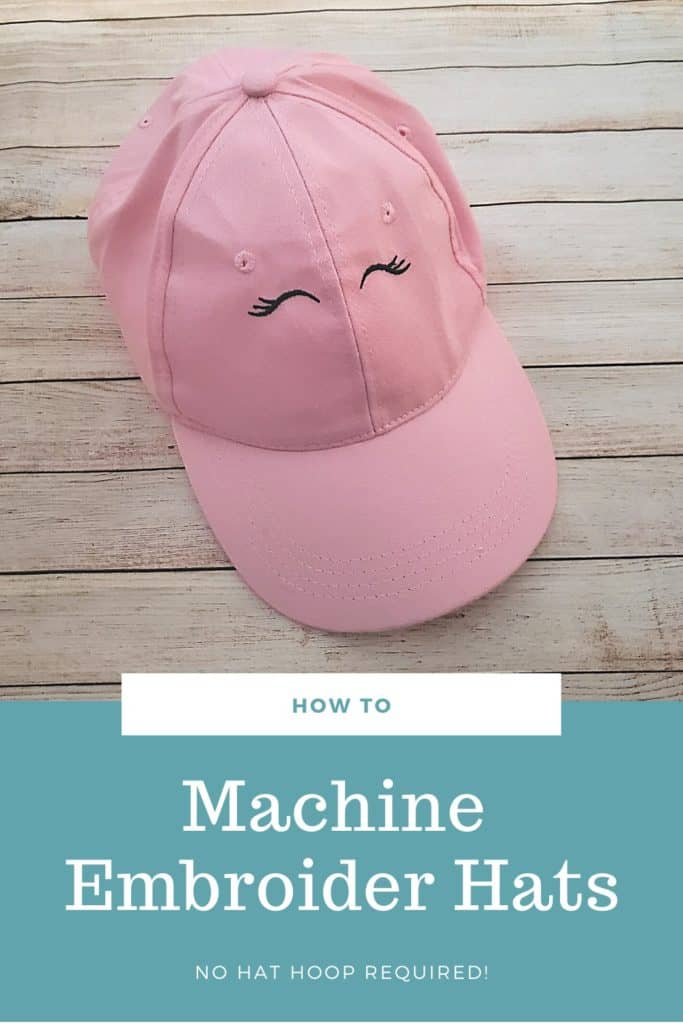 how to machine embroider hats (1)
