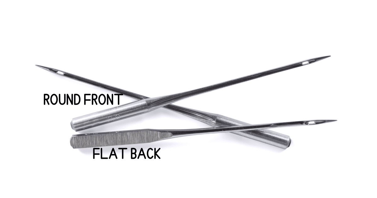 parts of a sewing needle