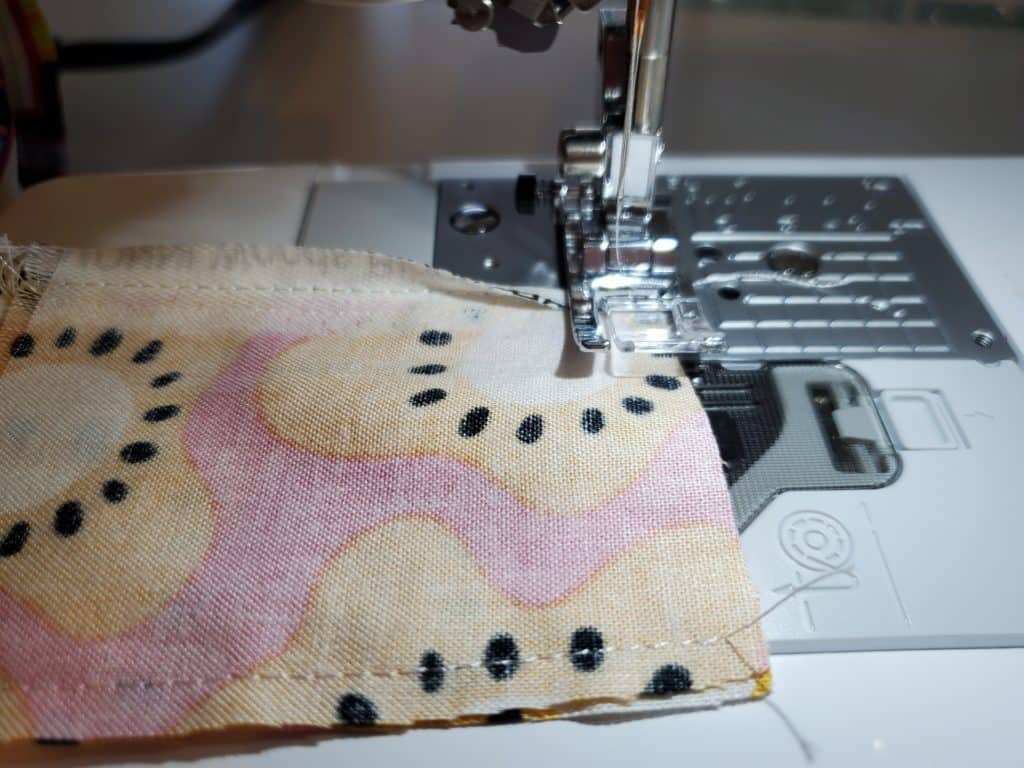 how to sew a wrapped corner