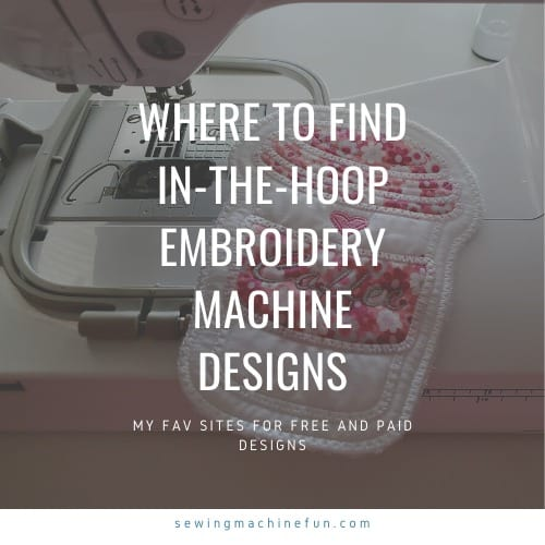 Where to Download In the Hoop Embroidery Designs For Your Machine