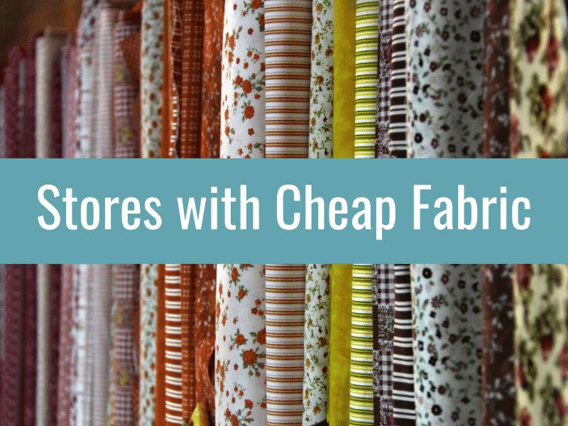 cheap fabric stores