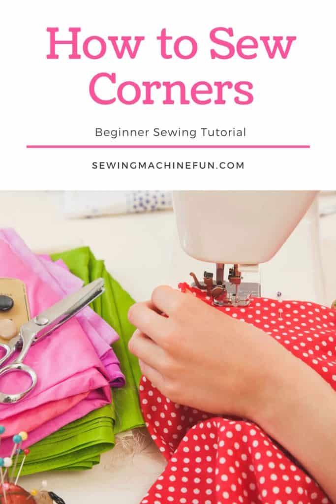 How to sew Corners