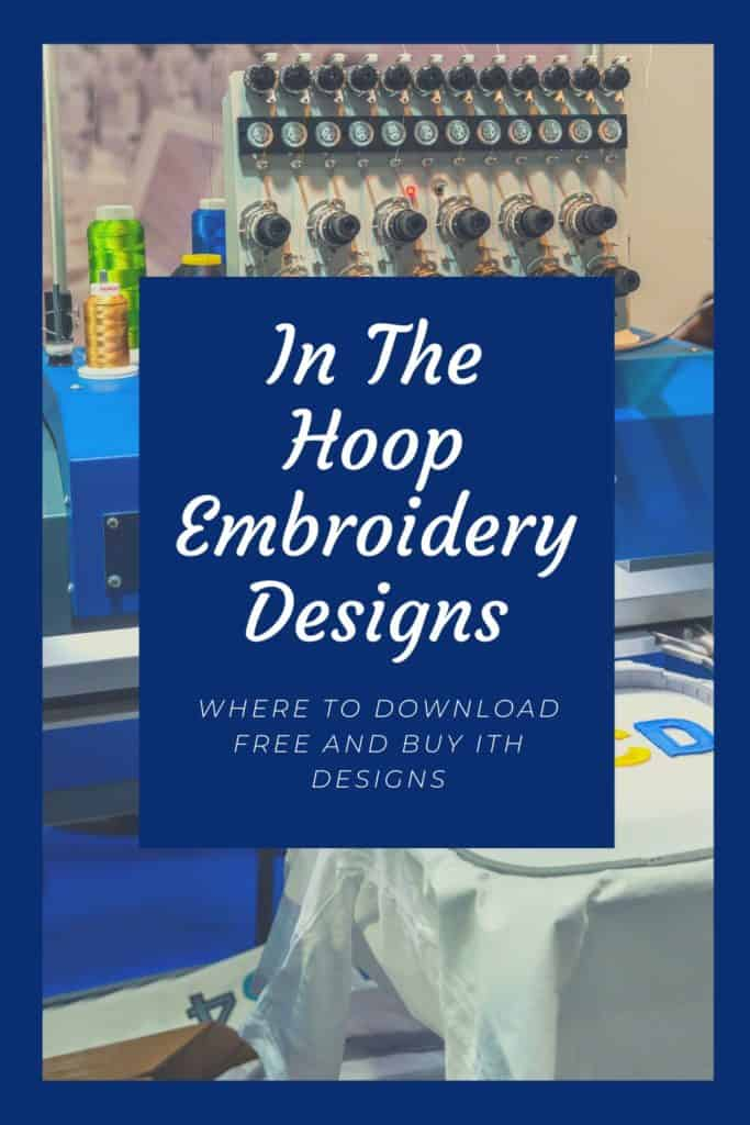 In-the-Hoop Embroidery Designs