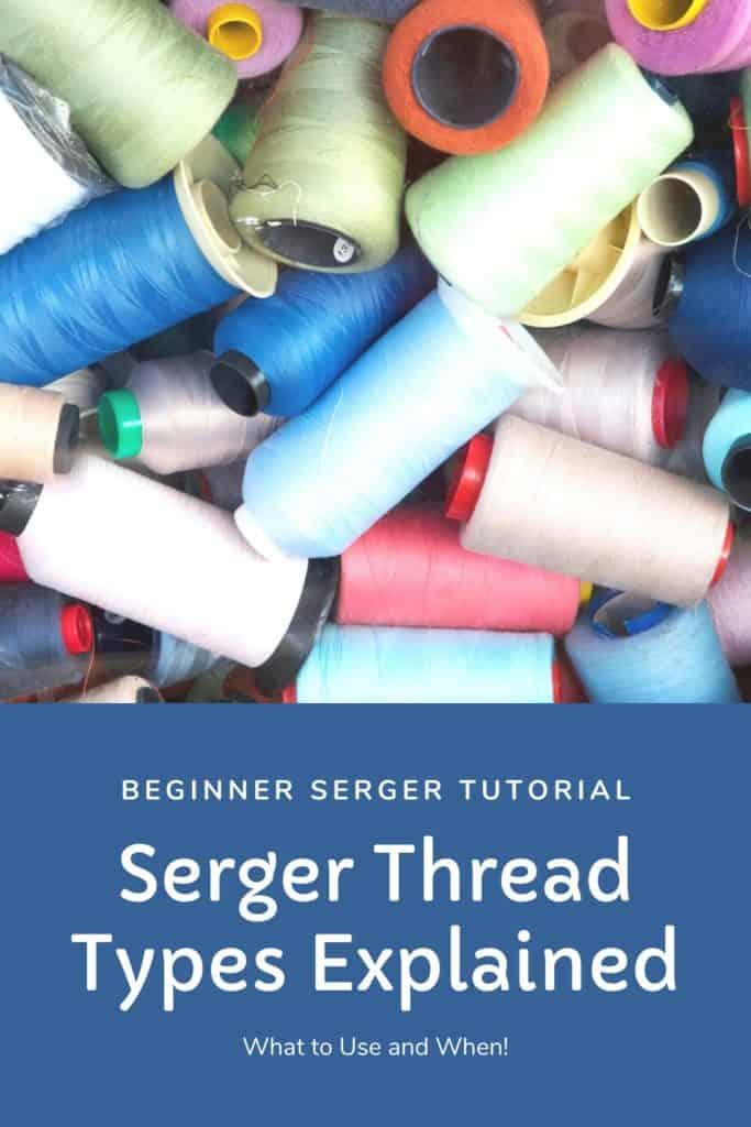 best serger thread types