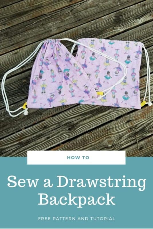 Copy of Free & Easy Sewing Tutorial for Drawstring backpack