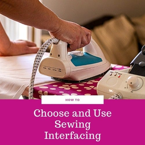 How to Choose and Apply Fusible Interfacing to Fabric