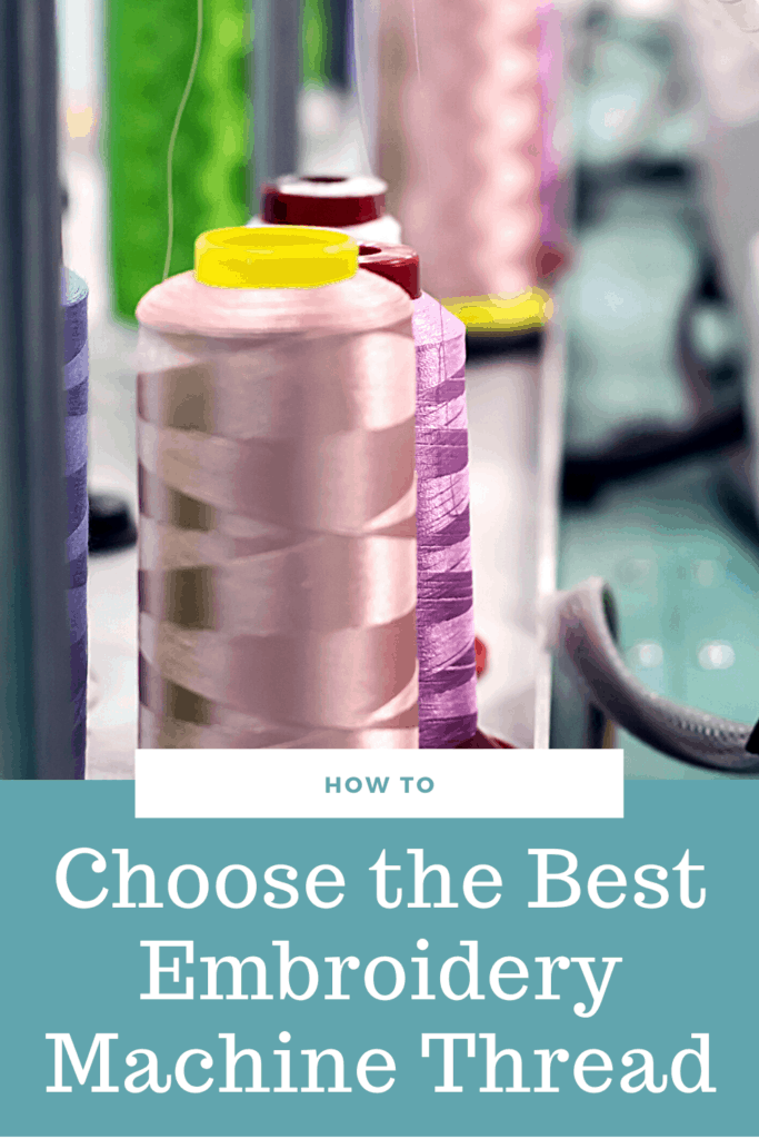 best embroidery machine thread: rayon vs polyester