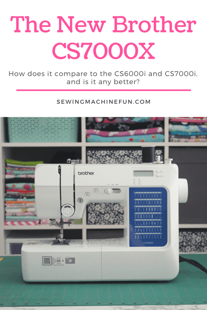 brother cs7000x sewing machine review