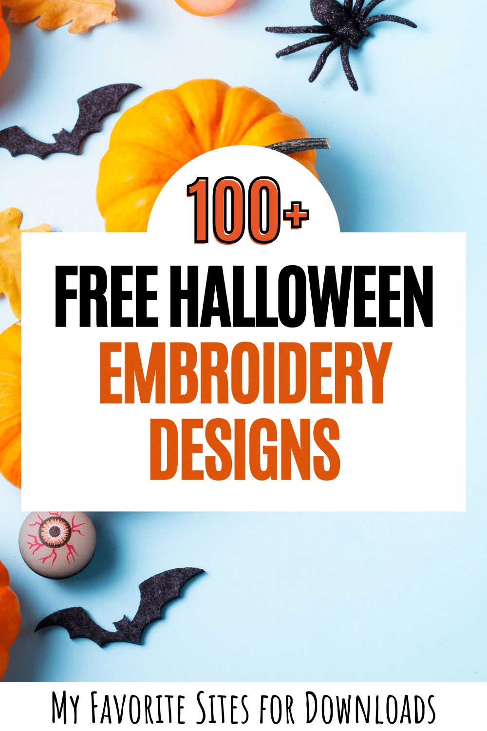 where to find halloween embroidery machine design freebies